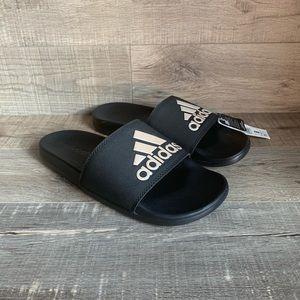 Adidas Womens Adilette Comfort Slides Black